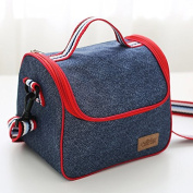 Insulated Lunch Bag,PRAGOO Thermal Bag Reusable Lunch Countainer Cooler Bag Office School Picnic Food Snack Storage Organiser