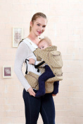 BBWW Soft 6-in-1 Cotton Four-season Multifunction Baby & Child Carrier With Hipseat
