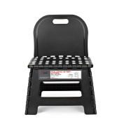Super Quality Heavy Duty Folding Step Stool with handle, Non Slip for Adults and Kids, Saves Space, Super Handy
