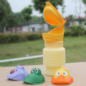 Potty Training Portable Kid Children Urinal Car Travel Toilet Potty Training Pee Camping 400ml