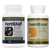 FertilAid for Men and Countboost Combo