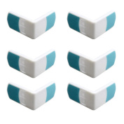 Inkach 6pcs Baby Safety Magnetic Lock Child Proof Cupboards Drawers Double Snaps Gift