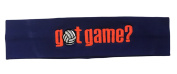 Logo Loops Embroidered Headband - Got Game Volleyball Orange