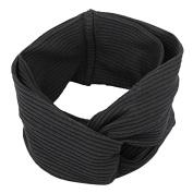 ieasysexy Women's Elastic Headban Soft Cotton Twisted Turban Hairband Bandana Headband for yoga or fashion