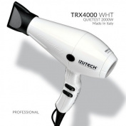 Izutech ZTRXBL01 TRX4000 AC Quietest Fan Speed Salon Dryer44; White