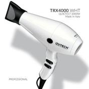 Izutech ZTRXBL01 TRX4000 AC Quietest Fan Speed Salon Dryer44; White