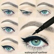 Waterproof Liquid Eyeliner Eye Liner Gel Black Will Stay All Day No Smudges