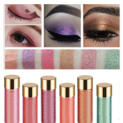 6 colours pack mermaid glow shimmer glitter eyeshadow highlighter power
