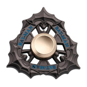 Alloy Wolf Unique Fidget Spinner Triangle Single Finger Decompression Gyro toy Stress Reducer, Perfect For ADD, ADHD, Anxiety, and Autism Adult Children by XILALU