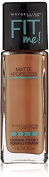 Maybelline Fit Me Matte Plus Pore Less Foundation, 358 Latte, 30ml