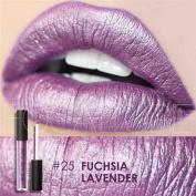 Kinghard New Fashion Lipstick Cosmetics Women Sexy Lips Metallic Lip Gloss