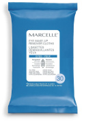 Marcelle Hypoallergenic and Fragrance-Free Eye Makeup Remover Cloths - 30 cloths