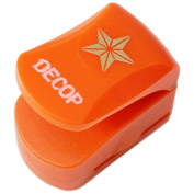 DECOP Embossed Craft Punch 25mm (1inch) 3D Star Small