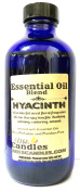 Hyacinth 240ml Cobalt Blue Glass Bottle of Premium Grade A Quality Fragrance Oil, Skin Safe Oil - Perfect for Candles, and ALL Bath and Body Products