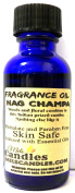 Nag Champa 1oz / 29.5ml Blue Glass Bottle of Skin Safe Fragrance Oil, Soap Oil, Candle Oil