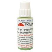 Pastel Green Metal Enamel Pen - 30 ml