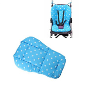 YIDEA Colourful Baby Infant Stroller Pushchair Thick Cotton Seat Cushion-Blue