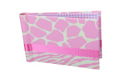 """Baby Photo Album 4 x 6 Brag Book """"Giraffe Girl"""" - Baby Shower Gifts, - Holds 24 Precious Photos, Acid-free Pages"""
