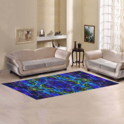 JC-Dress Area Rug Cover Mandala Art Modern Carpet Cover 3mx0.9m