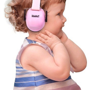 BEBE Muff Hearing Protection - BEST USA Certified Noise Reduction Ear Muffs, Fairy Floss, 3 months+
