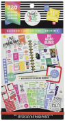me & my BIG ideas PPSV-12-2048 Create 365 The Happy Planner Sticker Value Pack Planner, Big Colour Way