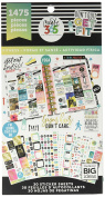 me & my BIG ideas Happy Planner Value Pack Stickers Fitness - Work It Out - 1475 Stickers