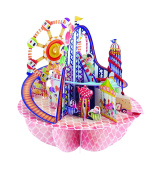 Santoro Pirouettes 3D Pop up Card, Fairground