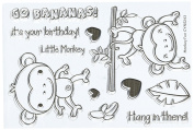 Your Next Stamp Clear Stamps 10cm x 15cm -Monkey Fun