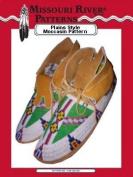 *Plains Style Moccasin Pattern