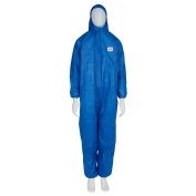 3M Protective Coverall, Type 5/6, 4515-B-2XL - XXL, Blue