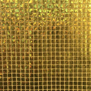 """Hologram Square Sequins Fabric 8mm for Decoration and Crafts 44/45"""" Wide By The Yard"""