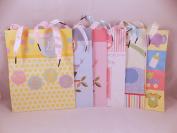 Baby Shower Gift Wrap Bags Assortment Boy Girl 6 Bags (7 x 23cm x 10cm ) 2 Packs Tissue Paper