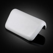 Anself Soft Bath Pillow Waterproof Bathtub Pillows Headrest Non-slip SPA Bathroom Supplies White