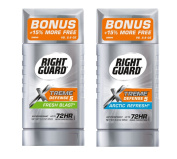 Right Guard Xtreme Defence 5 Antiperspirant Bundle, 90ml each