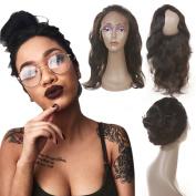 Brazilian Body Wave 360 Lace Frontal Closure Human Hair 13x 4x 2 Full Body Wave Frontal Lace Closure Natural Black Colour