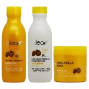 "Alea Damaged Hair with Argan Oil Shampoo + Conditioner + Mask ""Set"""