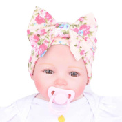 Covermason Cute Newborn Hospital Baby Hats With Flower Bowknot