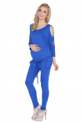 hi!mom Womens Maternity Jumpsuit With Pockets Boat Neck Open Sleeve Pregnancy Playsuit Sizes 8-14 1081