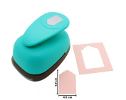 Price Tag Lever Action Craft Punch for Paper Crafting Scrapbooking Cards Arts DIY Project
