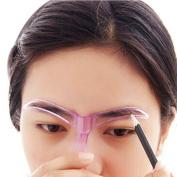Eyebrow Template, XUANOU Professional Beauty Tool Makeup Grooming Drawing Blacken Eyebrow Template