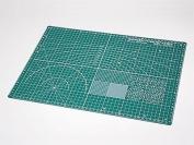 Tamiya Kraft Tool series No.76 Cutting Mat A3 size/Green Plastic model Tools for 74076