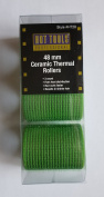 """Hot Tools 48mm Ceramic Thermal Rollers 1.9"""" 3 ct Green"""