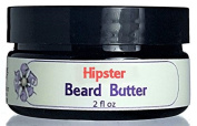 Hipster Beard Butter - Beard and Skin conditioning, Control Fly Aways, Manly Scent, All Natural with Shea Butter and Argan Oil
