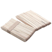 FTXJ Wooden Sticks for Body Hair Removal Wax Waxing Disposable Sticks