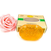 100g Natural Essential Oil 24K Gold Soap Whitening Skin Facial Bath Soap Relaxed and Firming Skin Oil Control