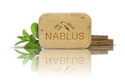 Natural Extra Virgin Olive Oil Soap Bar Cinnamon from Palestine Nablus Soap Natural For Dry Skin Care, Extra Gentle, Handmade 100ml