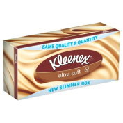 Kleenex Ultra Soft Tissues (80) - Pack of 2
