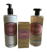 Naturally European Body Lotion, Shower Gel, and Hand Cream Set