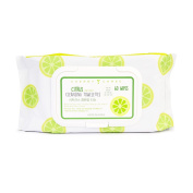 Cherry Chree Citrus Infused Cleansing Towelettes, 60 Wipes