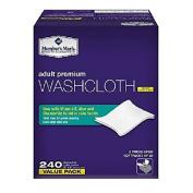 Member's Mark Adult Washcloths (240 ct.) SC